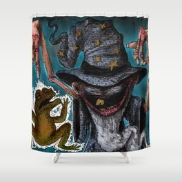 Hex O Scism Shower Curtain
