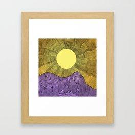 New Horizont Framed Art Print