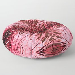 Pink Pearl Sea Fan by Chris Sparks Floor Pillow
