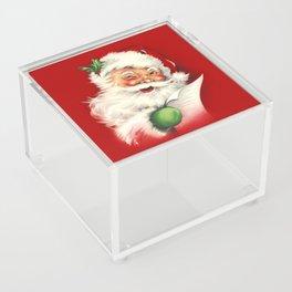 Vintage Santa Acrylic Box