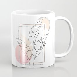 Tropical minimal Coffee Mug