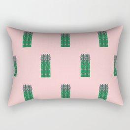 Vegetable: Asparagus Rectangular Pillow