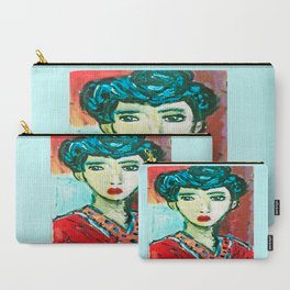 LADY MATISSE IN TEEN YEARS Carry-All Pouch