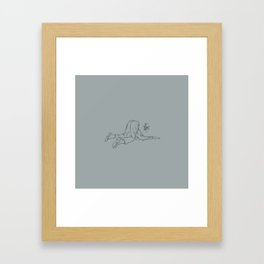 Afterthought Framed Art Print