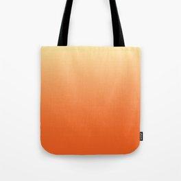 Orange Ombre Tote Bag