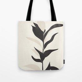 Abstract Minimal Plant Tote Bag