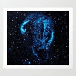 Cygnus Loop Nebula Art Print