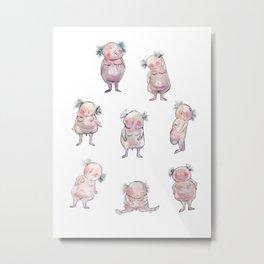 Little Males Metal Print