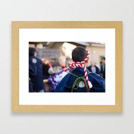 Nonomiya Festival Boy Framed Art Print