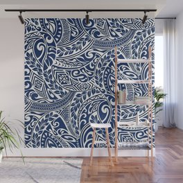 Hawaiian tribal pattern III Wall Mural