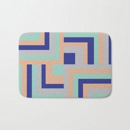Four Squared Bath Mat