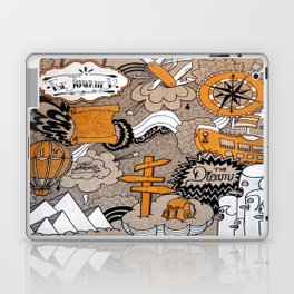 The Journey Is Part Of The Dream  Laptop & iPad Skin