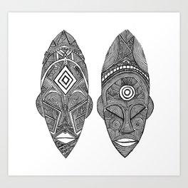 """The Sovereign  """"Malia & Khari"""" Art Print"""