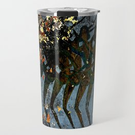 Josephine Baker Graffiti in the French Riviera Travel Mug
