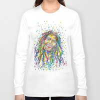 splatter Long Sleeve T-shirts featuring BMarley Splatter by Liam Reading