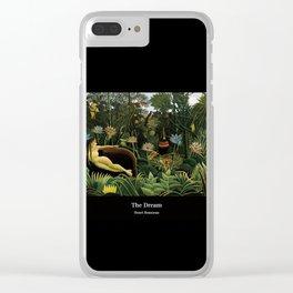 """Henri Rousseau """" The Dream """" Clear iPhone Case"""
