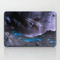 planet of the apes iPad Cases featuring Extraterrestrial Landscape : Galaxy Planet by 2sweet4words Designs