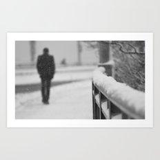 Lonely Stranger  Art Print