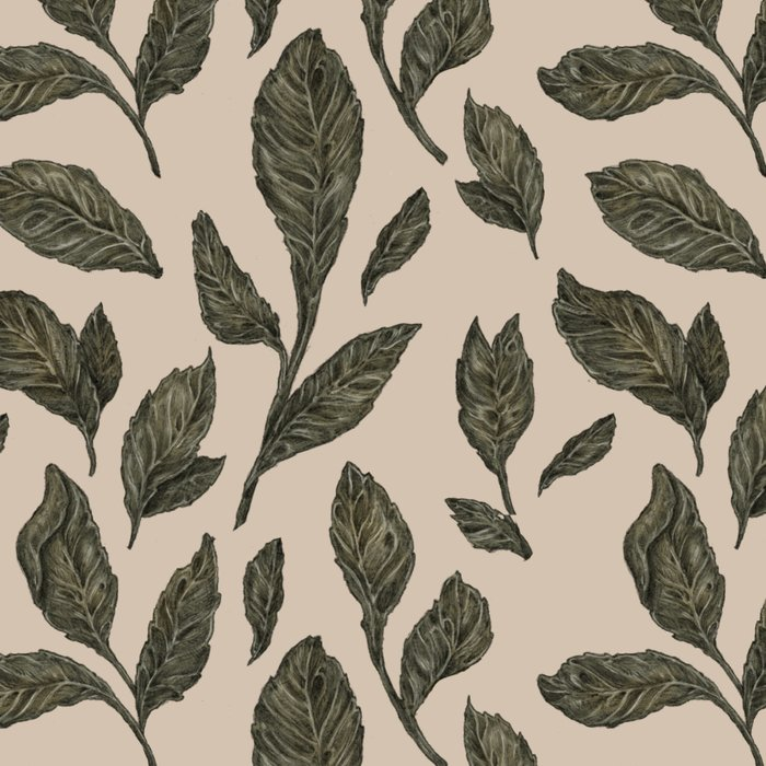 Leaf Pattern Leggings