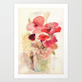 Graceful Petals  Art Print