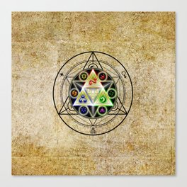 zelda triforce Canvas Print
