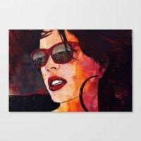 miami Canvas Prints featuring MIAMI  by Stephan Parylak