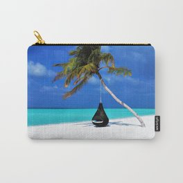 Maldives Island Paradise Landscape Carry-All Pouch