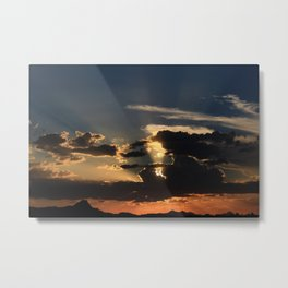Amazing Arizona Sunsets III Metal Print