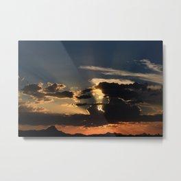 Amazing Arizona Sunsets III Metal Print