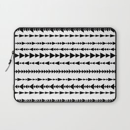 Triangles in lines Laptop Sleeve