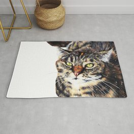 Kitty Cat Chili Rug