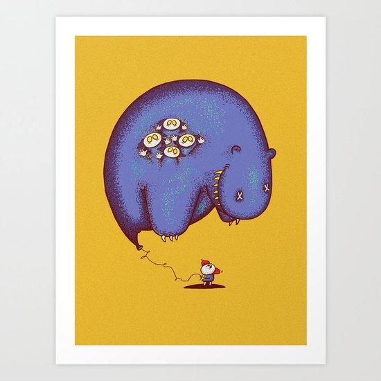 Globophobia Art Print