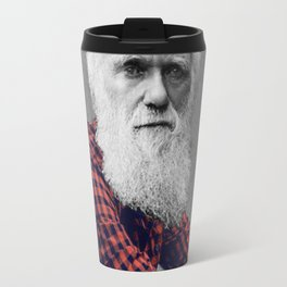 Hipster Darwin Travel Mug