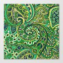 Floral Paisley Pattern 04 by serigraphonart