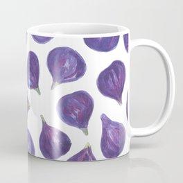 Watercolor figs pattern Coffee Mug