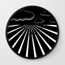 Dark Sky on the Horizon Wall Clock