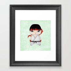A Boy - Ryu Framed Art Print