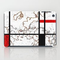 maps iPad Cases featuring MIX MAPS by MehrFarbeimLeben
