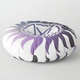 Saving People, Hunting Things, The Family Business Ombre Anti Possession Symbol Floor Pillow
