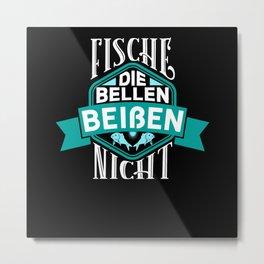 Fische Die Bellen - Gift Metal Print
