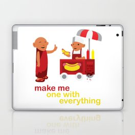 make me one with everything Laptop & iPad Skin