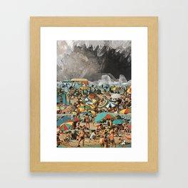 Let's Put The Winter Behind Us Framed Art Print