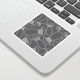 king oyster mushrooms Sticker