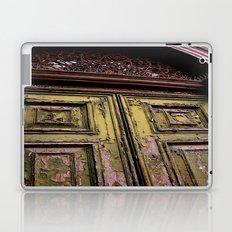 Green Door 2 Laptop & iPad Skin