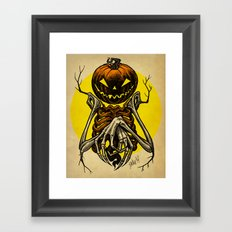 Autumn People 7 Framed Art Print