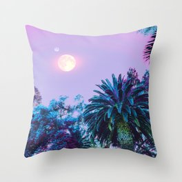 Summer Darkness Throw Pillow