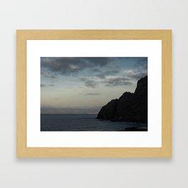Romanticism in La Gomera Framed Art Print