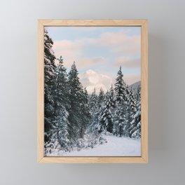 Mt. Hood National Forest Framed Mini Art Print