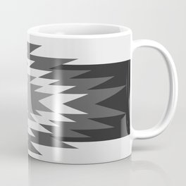 Aztec - black and white Coffee Mug