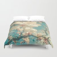once upon a  time Duvet Covers featuring Once Upon a Time by Cassia Beck